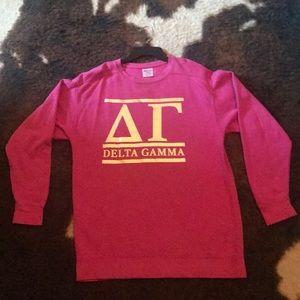 Delta Gamma DG Comfort Colors Sweatshirt